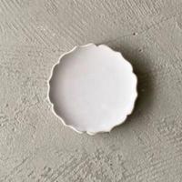 凛花豆皿 ホワイト