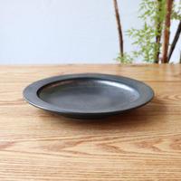 リム皿(7寸)シルバー
