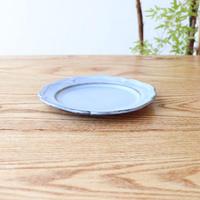 ピューター皿(5寸)ブルー