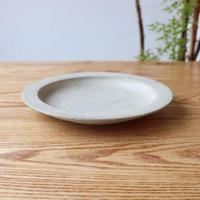 リム皿(7寸)モザイクシルバー