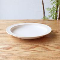 リム皿(7寸)ホワイト