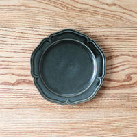 ピューター皿(6寸)グリーン