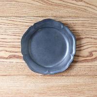 ピューター皿(6寸)シルバー
