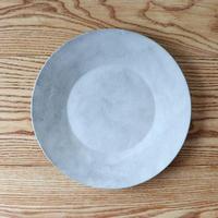 リム皿(9寸)モザイクシルバー