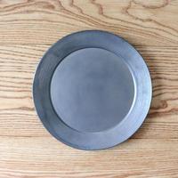 リム皿(8寸)シルバー