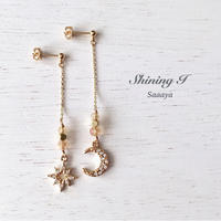 【14kgf可】Sparkling *Orange gold / Pierce