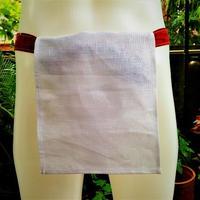 ふんどし【亜麻純白02 日本カラー】ShiNoBi Samurai under wear Linen White02 Japancolor