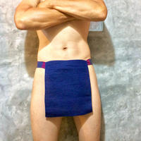 ふんどし【チェンマイ手織綿紺01】 ShiNoBi Samurai Under Wear Navy Homespun Cotton01