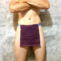 ふんどし【チェンマイ手織綿菫02】ShiNoBi Samurai Under Wear Homespun Cotton Violet02