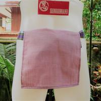 忍ふんどし  旅旅バージョン 天然素材 麻×亜麻×綿ミックス100% 薄紫