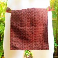 ふんどし【茶ライン02】 リネンヘンプ Shinobi Samurai Under Wear Brown(LinenHemp) chanel line pattern02