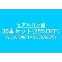 ヒアルロン酸小顔カスタマイズ用 ヒアルロン酸まとめ買いセット(30本セット)