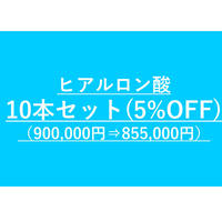 ヒアルロン酸小顔カスタマイズ用 ヒアルロン酸まとめ買いセット(10本セット)