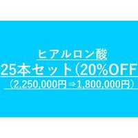 ヒアルロン酸小顔カスタマイズ用 ヒアルロン酸まとめ買いセット(25本セット)