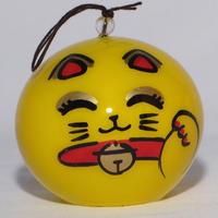 小丸 金運招き猫(スマイル)