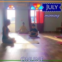 瞑想塾 7月朝クラス【4回券】