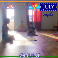 瞑想塾 7月夜クラス【4回券】