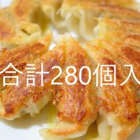 新助冷凍生餃子(28個入)×5袋・パワー冷凍生餃子(14個入)×5袋・季節限定冷凍生餃子(14個入)×5袋 合計280個入