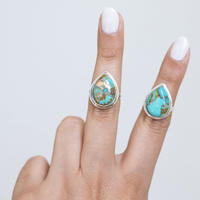 no.7 silver925×turquoise