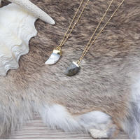 14kgf  horn necklace