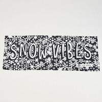 『SNOW VIBES』フェイスタオル