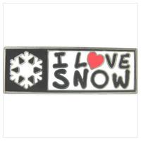 I LOVE SNOW Classic オフィシャルピンバッチ