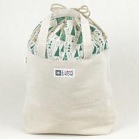 『森への感謝』シリーズ 木糸トートバッグ