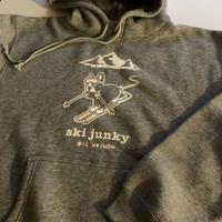 ski junky コラボパーカー(グレー)