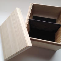 5x7桐製保存箱(5x7 Plate Storage  made by paulownia)