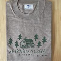 オリジナルTシャツ【小屋】グレー