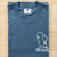 オリジナルTシャツ【りす】ブルーグレー