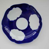 有田焼の三雲皿(藍)