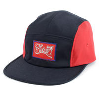 FRAME  FLOCKY COMFORT-5 CAP (2TONE NV X RED) made in japan (SH160105NVR)