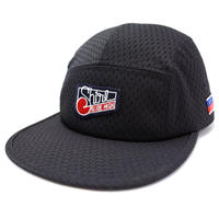 BLACK MESH COMFORT-5 CAP (BLACK) made in japan (SH170103BLK)