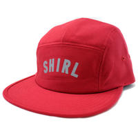 REFLECTOR ARCH LOGO  COMFORT-5 CAP (RED) made in japan (SH150109RED)