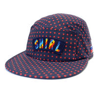 RAINBOW ARCH COMFORT-5 CAP (POLKA DOT) made in japan (SH180113DOT)