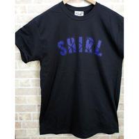 BLUE ARCH LOGO SS T-SHIRTS  (BLACK)(SH201213BLK)