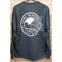 STAMP LOGO  L/S T-shirts   ( HEATHER CHARCOAL) SH201501HCH