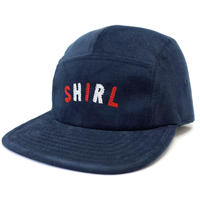 COLOR ARCH LOGO  CORDUROY COMFORT-5 CAP (NAVY) made in japan (SH170111NVY)