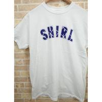 BLUE ARCH LOGO SS T-SHIRTS  (WHITE)(SH201213WHT)