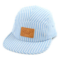KYC STRIPE COMFORT-5 CAP (BLUE STRIPE) made in japan (SH160102KYC)