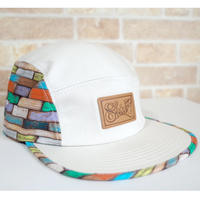 "WOOD WALL 5PANEL""安田哲也シグネチャー"" CAP (WOODWALL) made in japan (SH18HO14TET)"