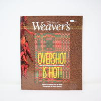 【古本】B2_105 The best of Weaver's OVERSHOT IS HOT! /Madelyn van der Hoogt