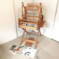 J009【USED】 <ashford> アシュフォード  織機  40cm巾スタンドセット 説明書付