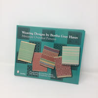 【古本(美品)】B254 Weaving Designs By Bertha Gray Hayes Miniature Overshot Patterns