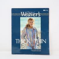 【古本】B2_58 The best of Weaver's THICK'n THIN /Madelyn van der Hoogt