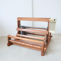 P031【USED】<東京手織>卓上機織 4枚綜絖 織幅50cm