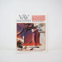 【古本】B2_258 Vav Magasinet VÄVMAGASINET NR1 1993