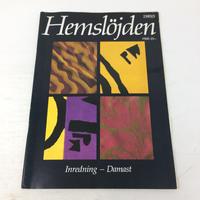 【古本】B189Hemslöjden  Magazine   1989/5