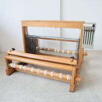P032【USED】<メーカー不明>卓上機織 4枚綜絖 織り幅50cm